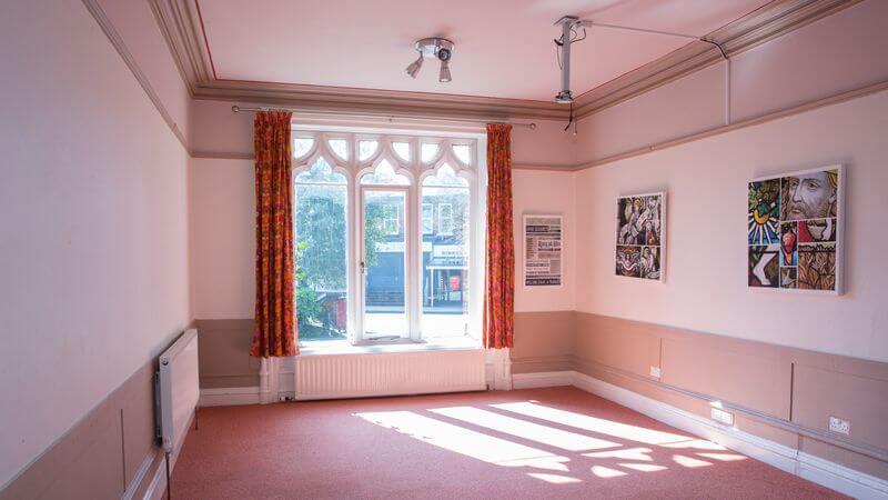 We also hire rooms in No.6 next door
