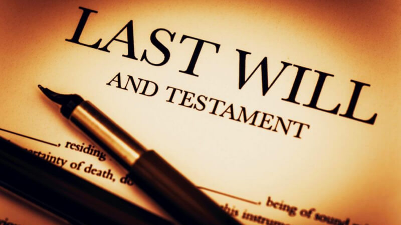 If you haven't made a will, now is a good time!
