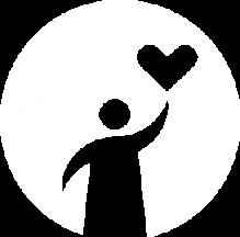 Now Donate white logo