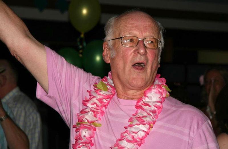 Rod Ashman dancing