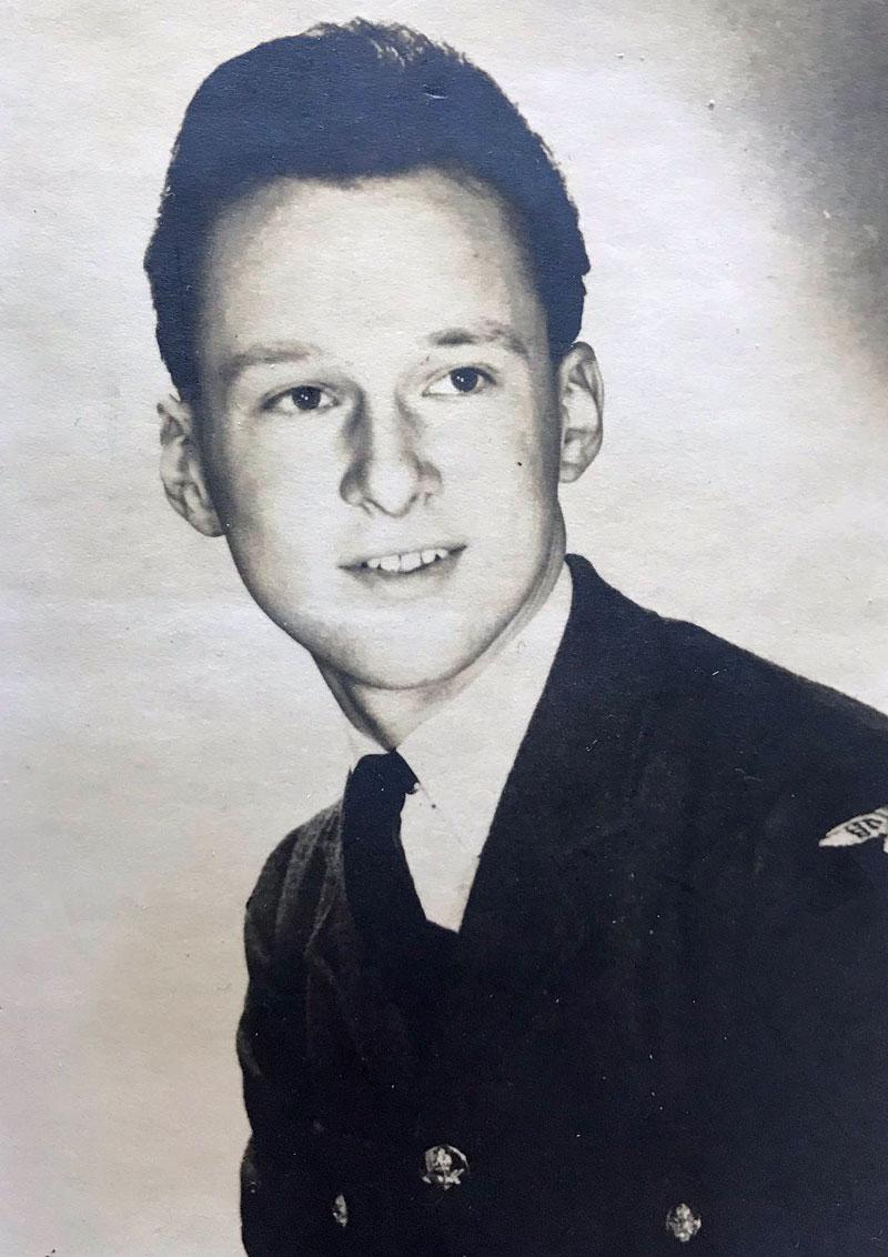 Rod in his RAF uniform